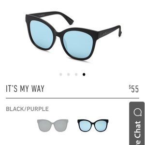 Quay My Way Sunglasses & Case